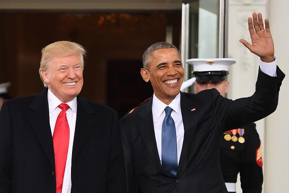 barack obama, president trump