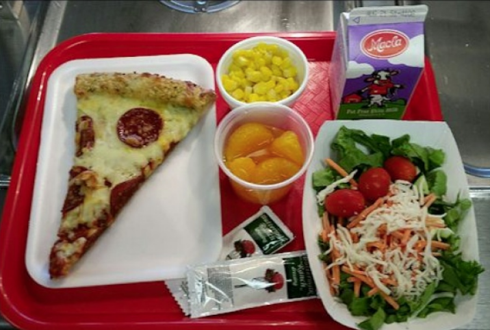 children's school lunch