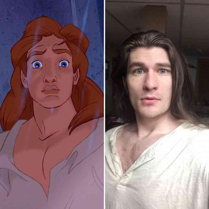transformed into a Disney Prince.
