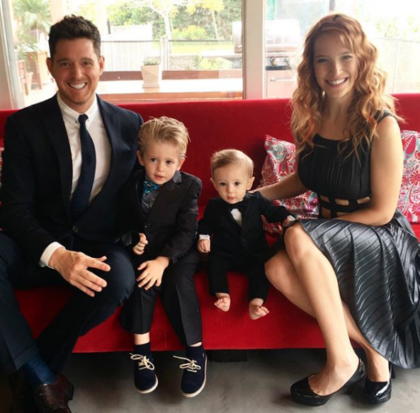 michael buble and wife confirm rumors on son's diagnosis
