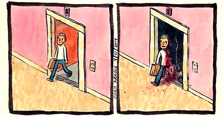 comics about fear
