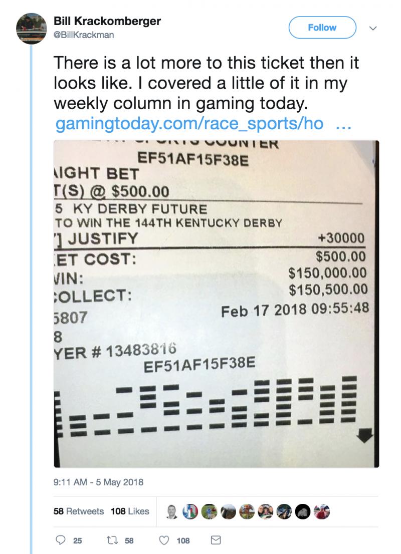 $18 bet