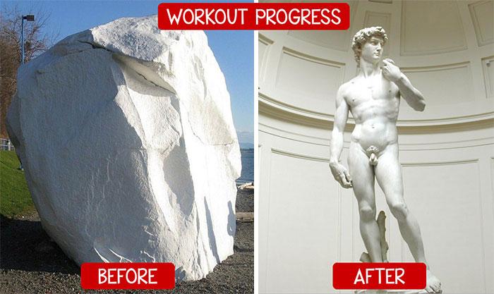 life progress pics