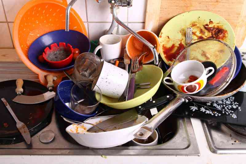 don`t rinse dishes